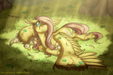 Small Patch of Sunshine by InuHoshi-to-DarkPen