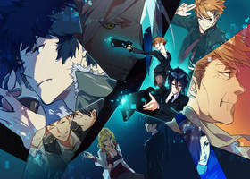 PSYCHO-PASS by siruphial