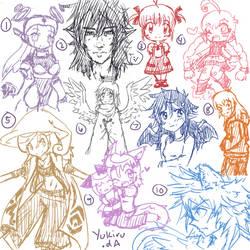 Redraw Doodles by Yukiru