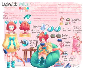 Udroid: Mila by Yukiru
