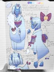 Umi - Oni Princess Ref by Yukiru