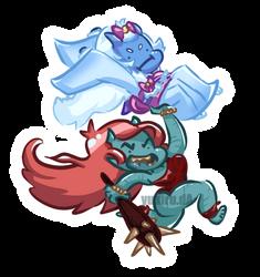 Umi and Whack! by Yukiru