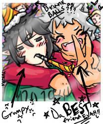 Happy New Year! by Yukiru