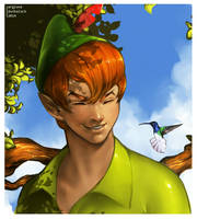 Peter Pan by IndahAlditha