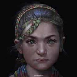 Little Lady by IndahAlditha