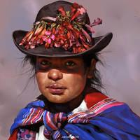 Peruvian Woman by IndahAlditha