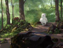 Walking Alone by IndahAlditha