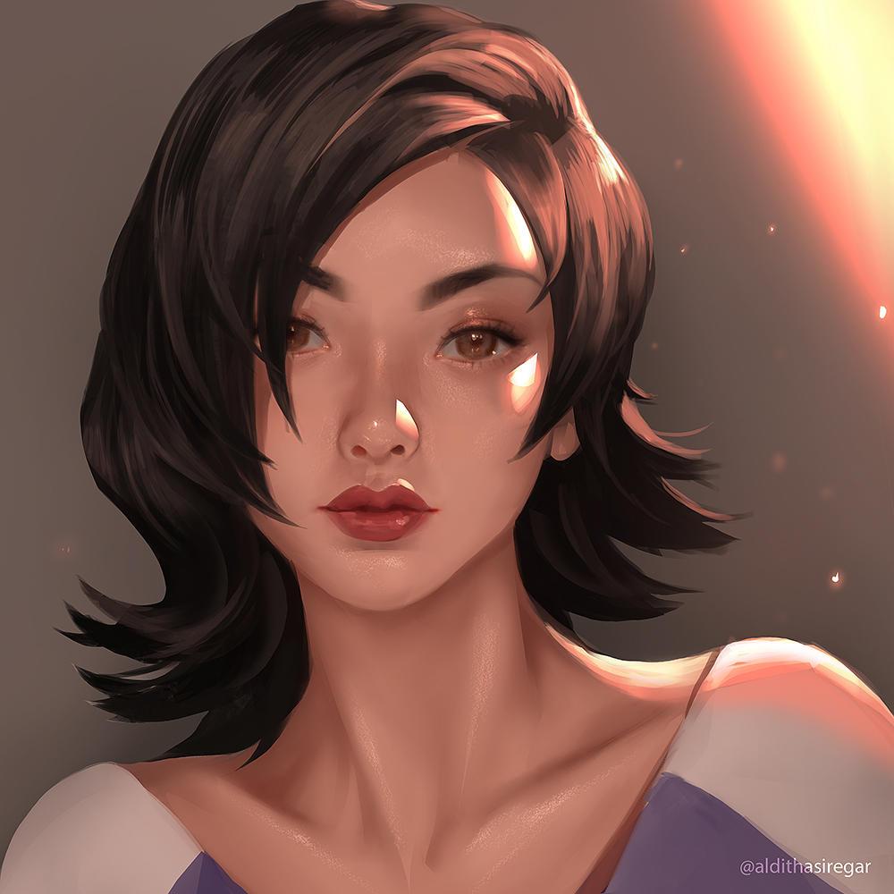 Yuna D.Mon by IndahAlditha