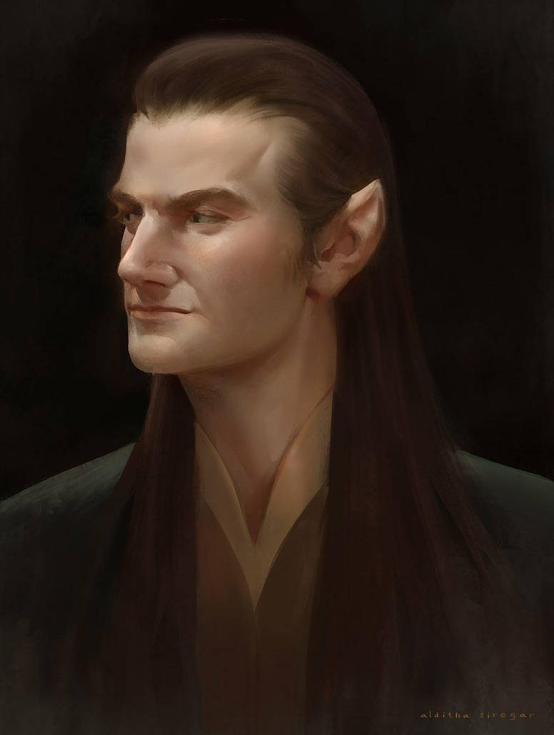 Fan Art : Richard Armitage - Elf by IndahAlditha