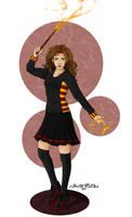 Hermione Granger by Yunaelys