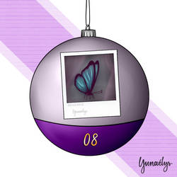 Life is Strange Advent calendar - 08 Butterfly by Yunaelys