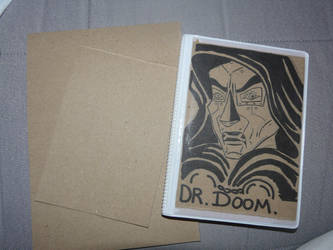 dr doom little book by teazuko