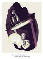Poe meets Teen Titan Raven by caanantheartboy