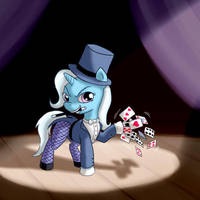 EqDTG II - 09 - Pony dressed as comic character by Fadri