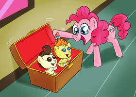 EqDTG II - 26 - Pony finding a treasure by Fadri