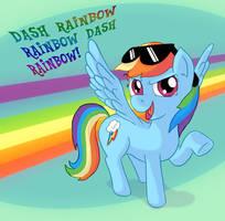 Dash Dash Rainbow Dash Rainbow by Fadri