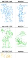 Steven Universe: Expectations vs Reality by Fadri