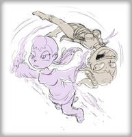 Xheera and Mhyhm Acrobatics by Fadri
