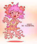 ~Monster Girl Inktober~ #03: Elemental by Fadri