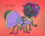 ~Monster Girl Inktober~ #06: Spider by Fadri