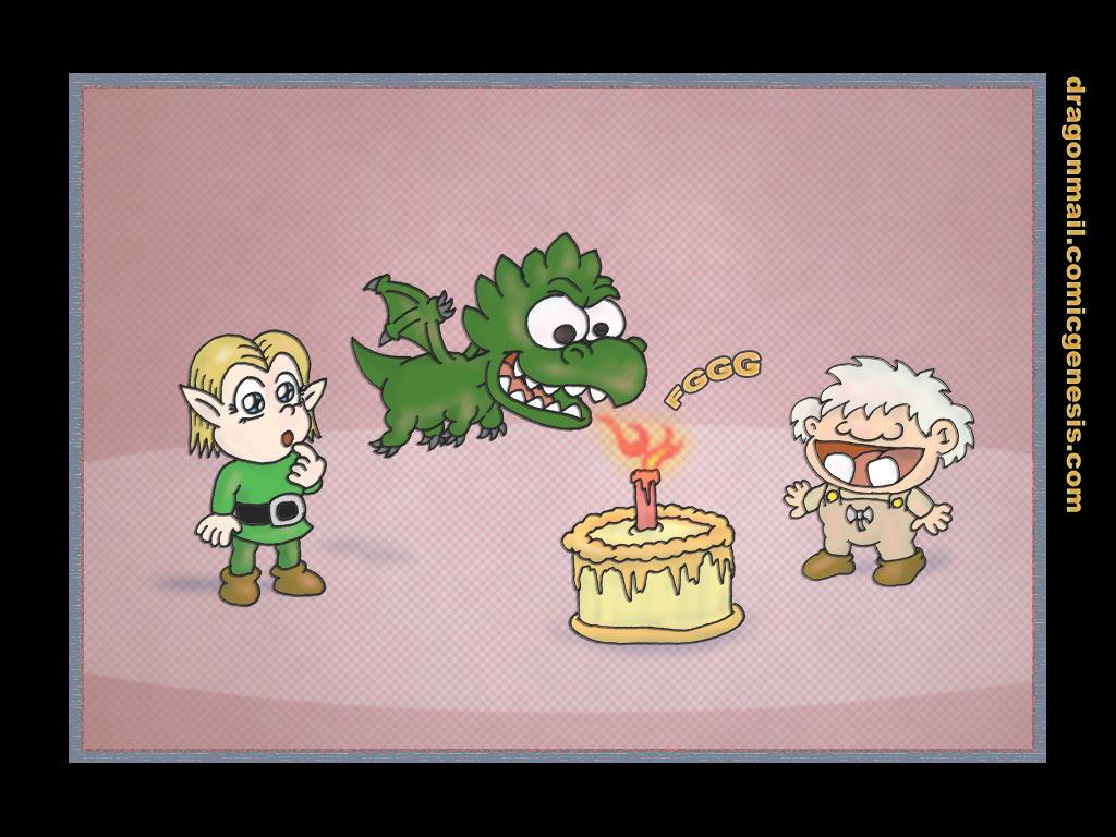 Dragon Mail 1st Anniversary by Fadri