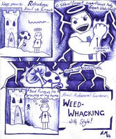 Retro Weed-whacking by neander