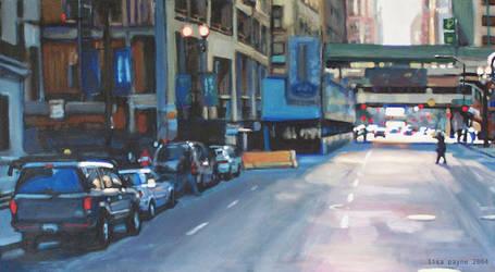Chicago Street by blindedangel