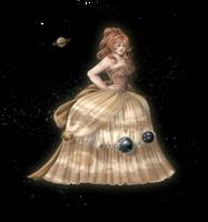 It's a glamorous planet! by MiaGB