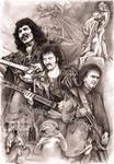 Tony Iommi - Black Sabbath by Alleycatsgarden