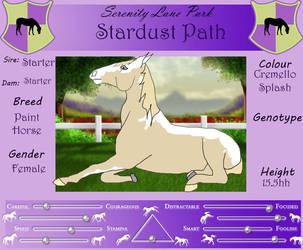 SLP Stardust Path by DiamondHorses