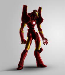 Evangelion - IronMan by Massakin