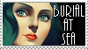 Elizabeth - Burial At Sea Stamp by TRADT-PRODUCTION