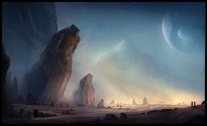 Sci-Fi sketch by ChrisDrake1987