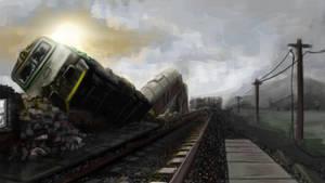 railway by TomCzech