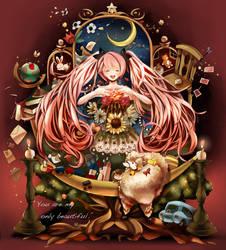 Hatsune Miku by chamooi