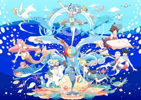 Aqua Carnival by chamooi