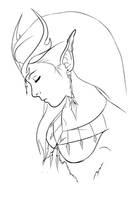 Druid Lineart by Xaomi