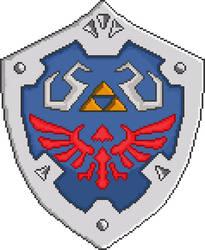 Hylian Shield by MF21