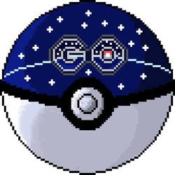 Pokeball GO Pixel by MF21