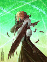 Cloud vs Sephiroth by suzuran