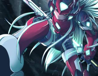 Mega Man Zero - Mythos by suzuran
