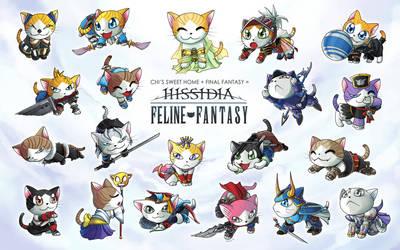 Feline Fantasy: Hissidia by suzuran