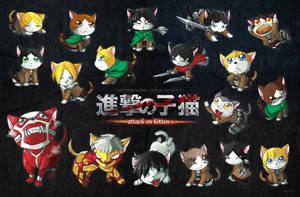 Attack on Kitten by suzuran