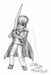 Swordsman (Character Redraw) by TintjeMadelintje101