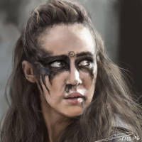 [Fanart] - Watch the Thrones (Lexa) by Erinyes-Furiae
