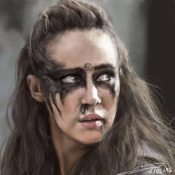 [Fanart] - Watch the Thrones (Lexa) by Erinyes-Furiae