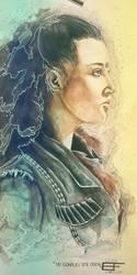 [Fanart] - Yu Gonplei Ste Odon (Lexa from the 100) by Erinyes-Furiae