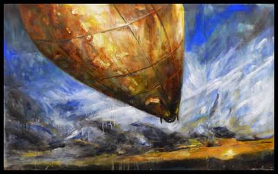 John Galt's Golden Airship by Peacewise