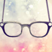 Glasses and Bokeh by Cute-And-Bright