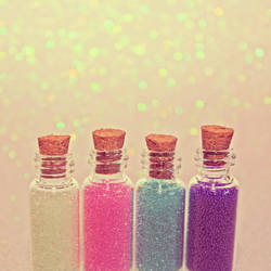 Magic Bottles by Cute-And-Bright